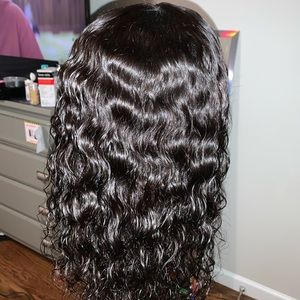 """16"""" Water Wave lace closure wig"""